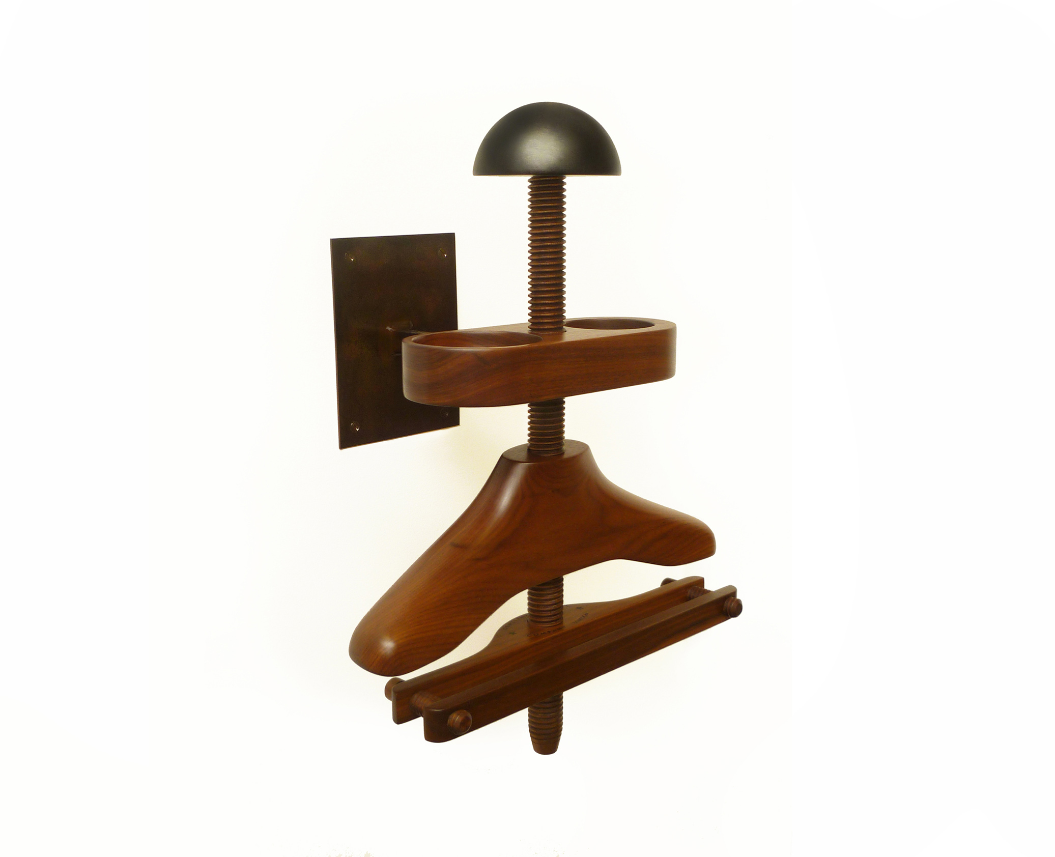 Wall Mounted Hatstand Valets Gentleman S Valet Company Blog