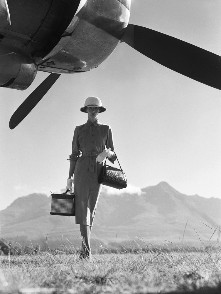 The Art of Travel, 1951 by Norman Parkinson