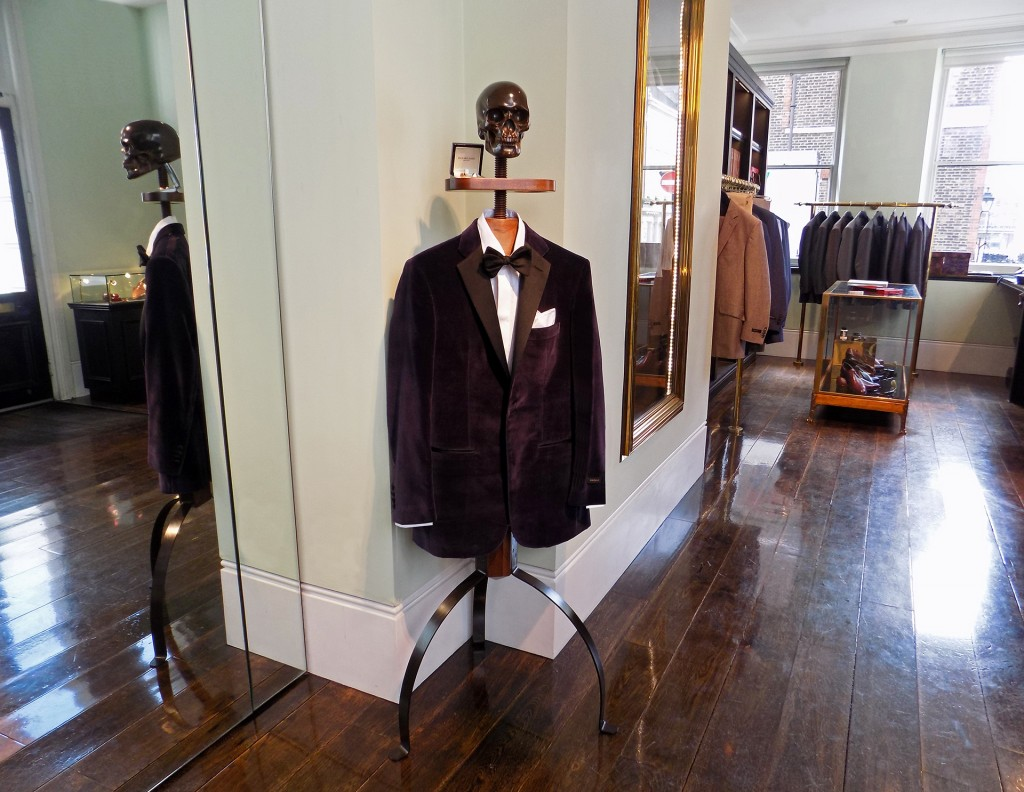 Gentleman's Valet Company on Savile Row!